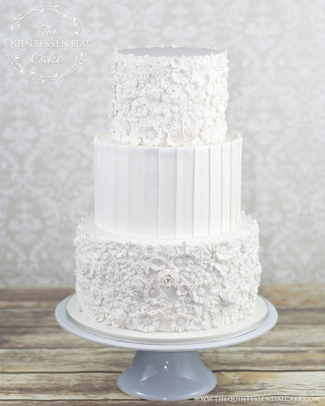 Bas Relief Wedding Cake