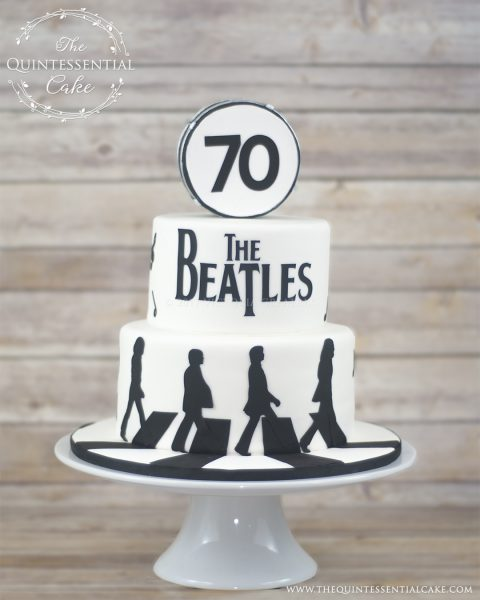 Beatles Cake   The Quintessential Cake   Chicago   Custom Cakes