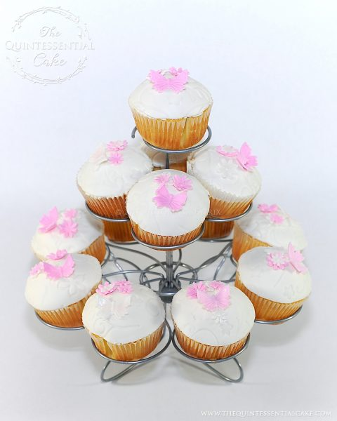 Butterfly Cupcakes | The Quintessential Cake | Chicago | Custom Cakes