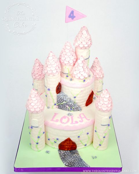 Castle Cake | The Quintessential Cake | Chicago | Custom Cakes
