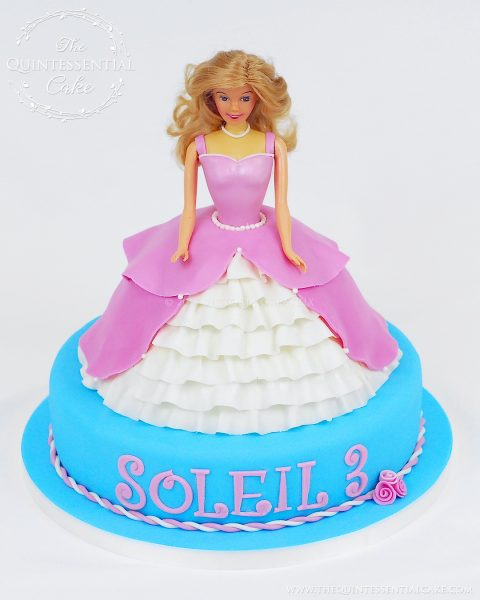 Doll Cake | The Quintessential Cake | Chicago | Custom Cakes