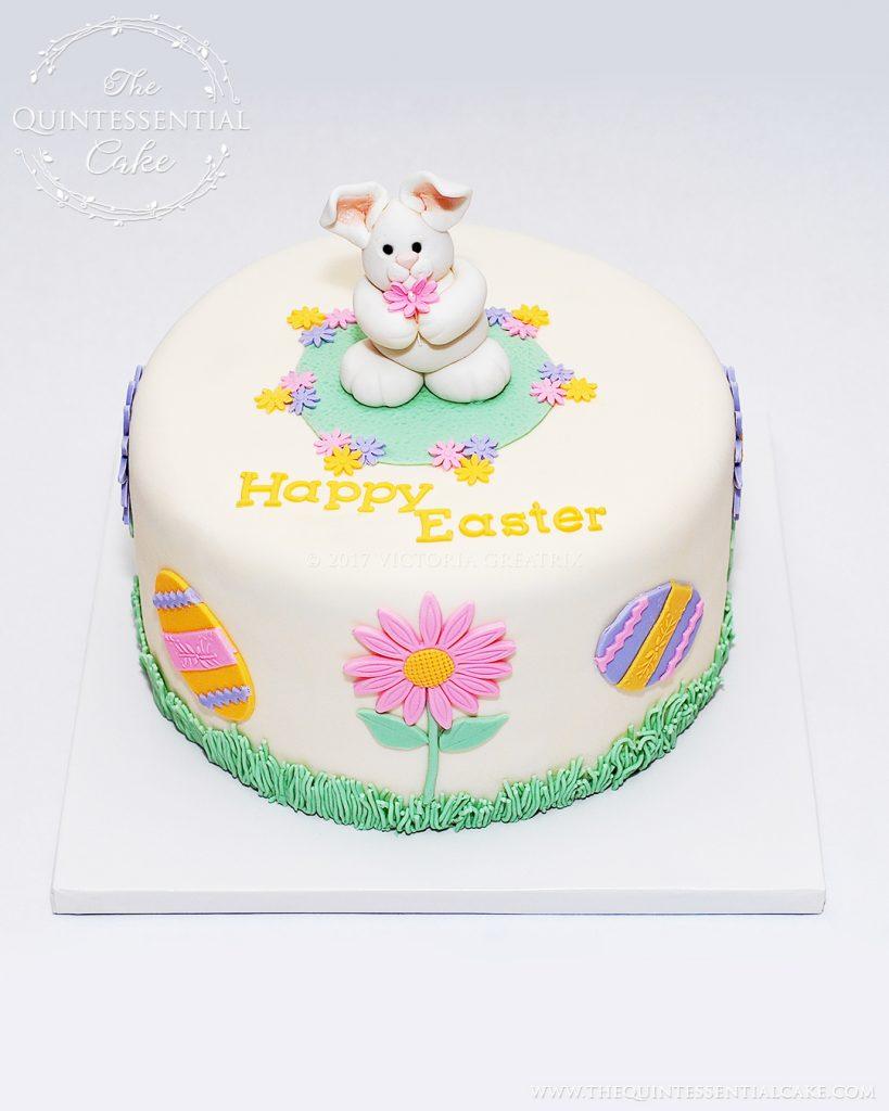Easter Bunny Cake | The Quintessential Cake | Chicago | Custom Cakes