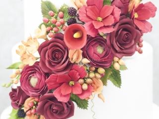 Garfield Park Wedding Flowers Close Up