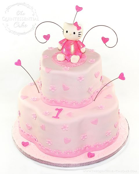 Hello Kitty Cake | The Quintessential Cake | Chicago | Custom Cakes