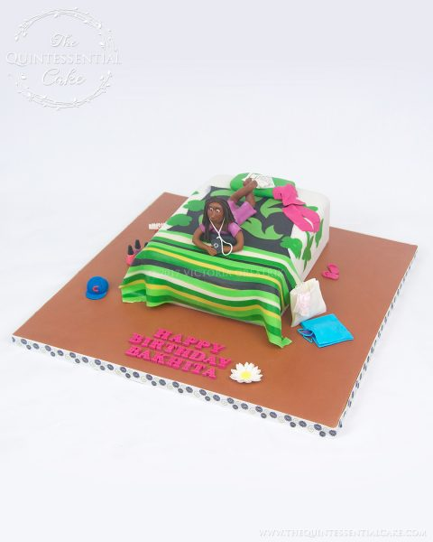 Icing Smiles Bed Cake | The Quintessential Cake | Chicago | Custom Cakes | Icing Smiles
