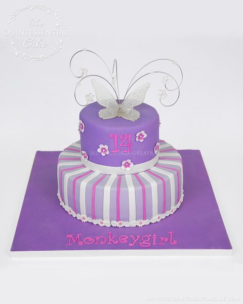 Icing Smiles MonkeyGirl Cake | The Quintessential Cake | Chicago | Custom Cakes | Icing Smiles