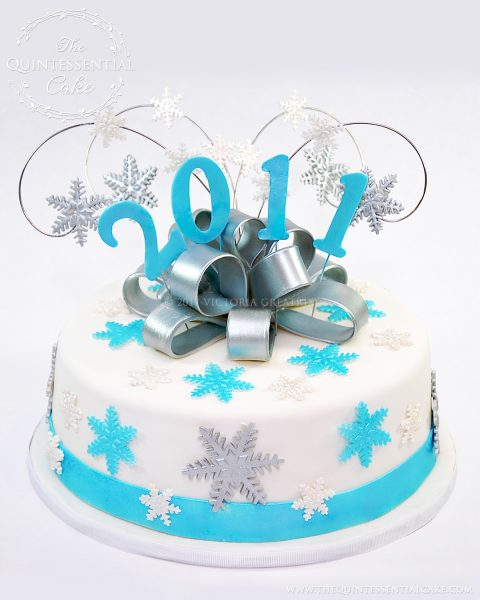 New Year's Cake | The Quintessential Cake | Chicago | Custom Cakes