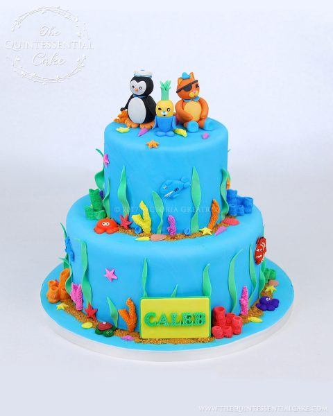 Octonauts Cake | The Quintessential Cake | Chicago | Custom Cakes