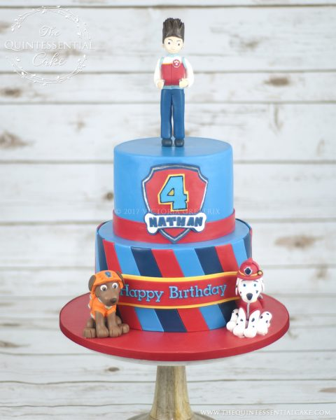 Paw Patrol Cake | The Quintessential Cake | Chicago | Custom Cakes