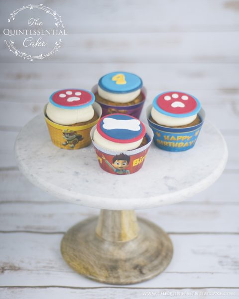 Paw Patrol Cupcakes | The Quintessential Cake | Chicago | Custom Cakes