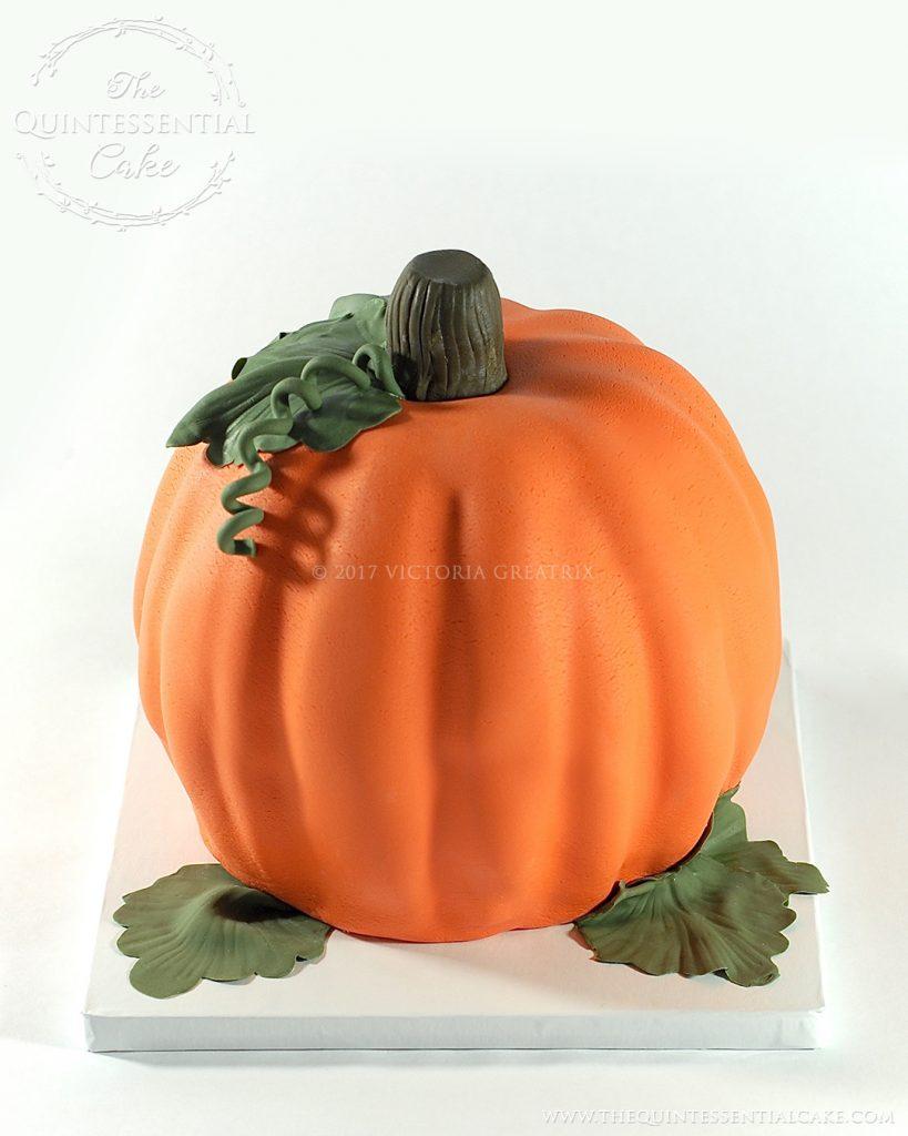 Pumpkin Cake | The Quintessential Cake | Chicago | Custom Cakes