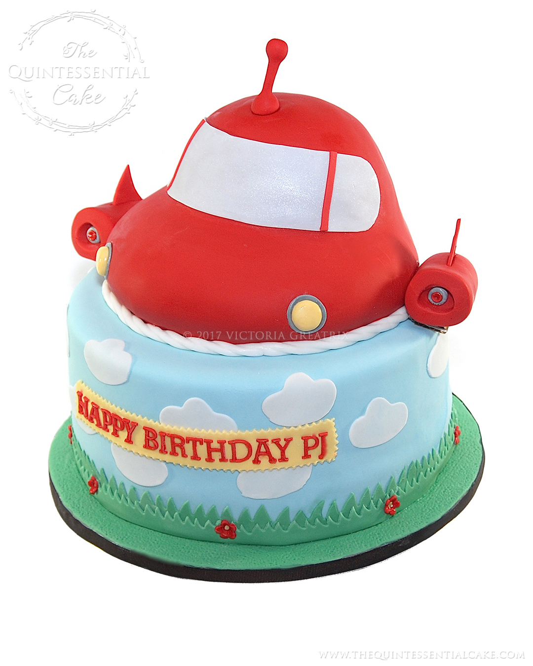 Swell Little Einsteins Rocket Cake The Quintessential Cake Chicago Funny Birthday Cards Online Inifofree Goldxyz