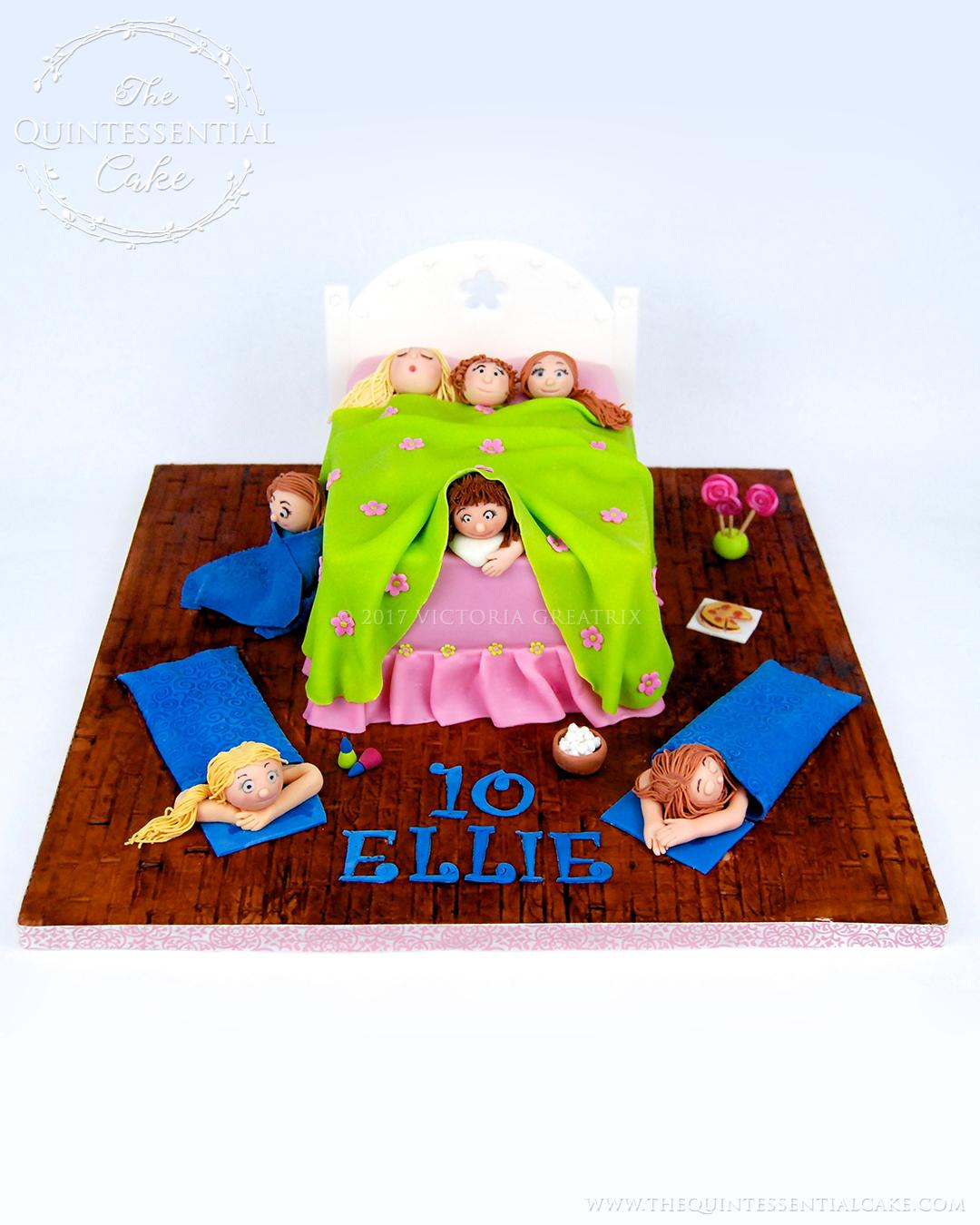Tween Sleepover Cake
