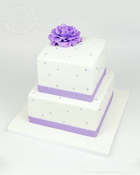 Christening Cake | The Quintessential Cake | Chicago | Custom Cakes