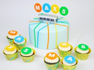 NYC Subway Cake