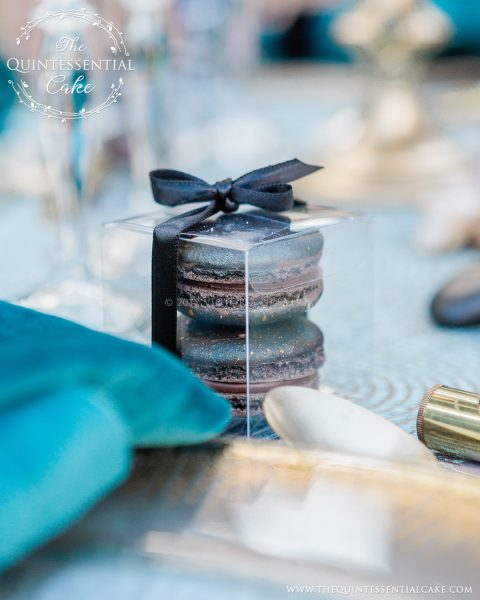 Macaron Favors | The Quintessential Cake | Chicago | Luxury Wedding Cakes | Hyatt Lodge