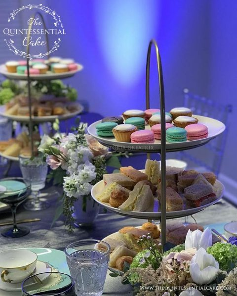 Tea Party | The Quintessential Cake | Chicago | Luxury Wedding Cakes | The Quintessential Cake