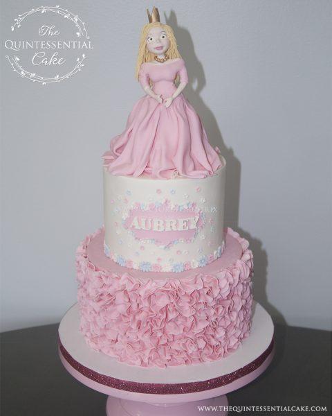 TQC Icing Smiles Princess Cake | The Quintessential Cake | Chicago | Luxury Occasion Cakes |