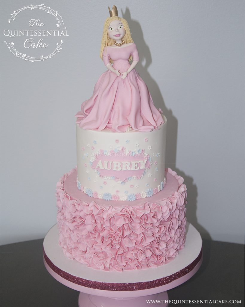TQC Icing Smiles Princess Cake | The Quintessential Cake | Chicago | Luxury Occasion Cakes |