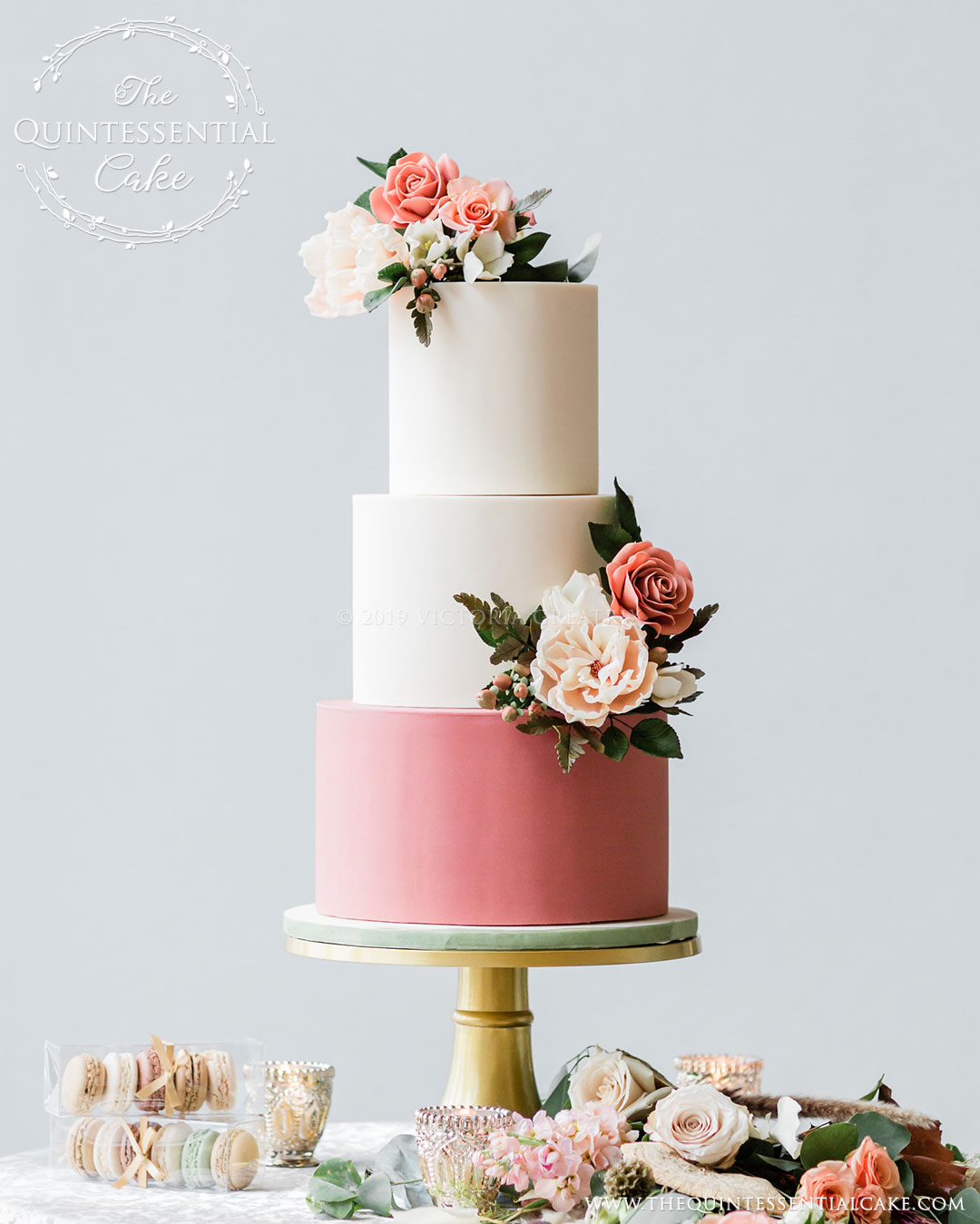 Chicago Style Weddings | The Celebration Society | Designers Challenge 2020 | The Quintessential Cake | Chicago | Luxury Wedding Cakes | Hotel Palomar