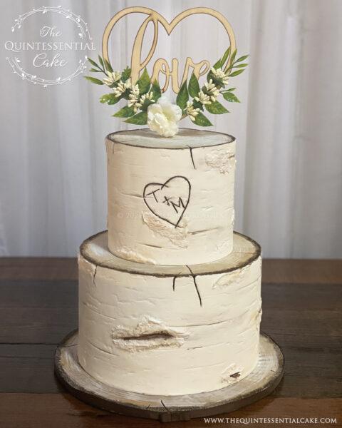 Birch Wedding Cake | The Quintessential Cake | Wheaton